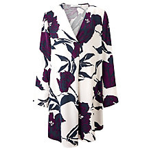 Buy Samsoe & Samsoe Cassandra Printed Dress, Papier Fleurie Online at johnlewis.com