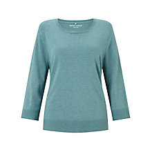 Buy Gerry Weber 3/4 Sleeve Jumper, Jade Online at johnlewis.com