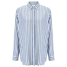 Buy Samsoe & Samsoe Caico Stripe Shirt, Surf The Web Online at johnlewis.com