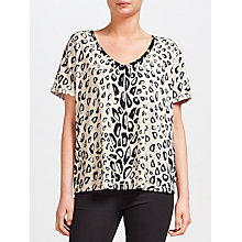 Buy Maison Scotch Printed T-Shirt Online at johnlewis.com