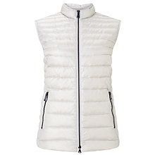 Buy Gerry Weber Quilted Gilet, Silverlight Online at johnlewis.com