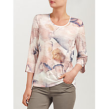 Buy Gerry Weber 3/4 Sleeve Printed T-Shirt, Multi Online at johnlewis.com