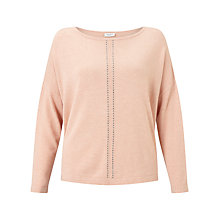 Buy Gerry Weber Bead Detail Jumper, Nude Melange Online at johnlewis.com