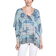 Buy East Sofia Top, Green Online at johnlewis.com