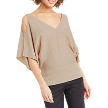 Buy Oasis Sparkle Cold Shoulder Jumper Online at johnlewis.com