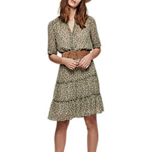 Buy Gerard Wild Floral Print Dress, Green Online at johnlewis.com