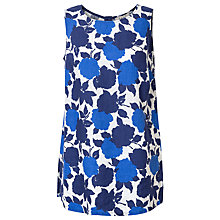 Buy East Sicily Linen Sleeveless Blouse, Ocean Online at johnlewis.com