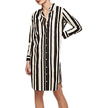 Buy Gerard Darel Priam Cotton Shirt Dress, Black Online at johnlewis.com