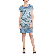 Buy East Sofia Print Dress, Green Online at johnlewis.com