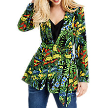 Buy Oasis Tropical Cuba Soft Blazer, Multi Online at johnlewis.com