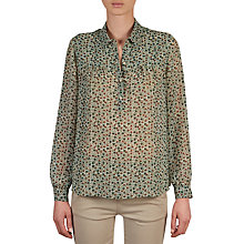 Buy Gerard Darel Calix Blouse, Green Online at johnlewis.com