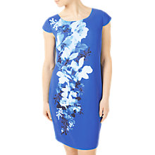 Buy Jacques Vert Riviera Bali Dress, Blue/Multi Online at johnlewis.com