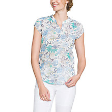Buy East Marianne Print Blouse, Pearl Online at johnlewis.com