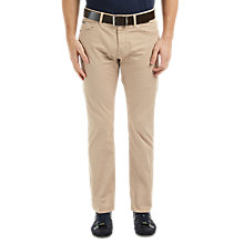 Buy BOSS Green C-Maine1-2-20 Straight Stretch Jeans, Light Beige Online at johnlewis.com