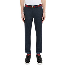 Buy Ted Baker Golf Ondaway Woven Water Repellent Trousers, Navy Online at johnlewis.com