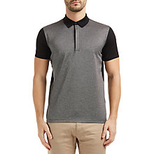 Buy BOSS Green C-Genova Polo Shirt, Black Online at johnlewis.com