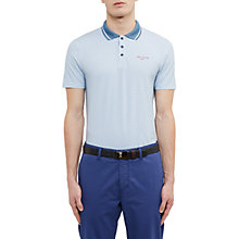 Buy Ted Baker Golf Balata Golf Tee Print Pattern Polo Shirt Online at johnlewis.com