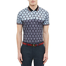 Buy Ted Baker Golf Birdy Colour-Block Golf Ball Print Polo Shirt Online at johnlewis.com