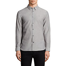 Buy AllSaints Tulare Textured Slim Fit Shirt Online at johnlewis.com
