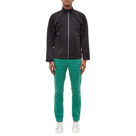 Buy Ted Baker Golf Swanson Water and Windproof Jacket, Black Online at johnlewis.com