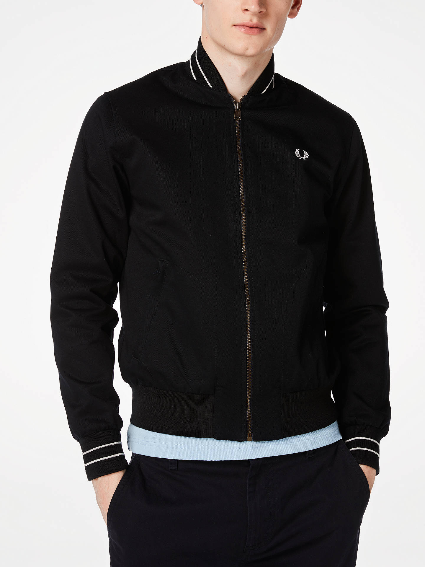 97178f481 Fred Perry Bomber Jacket at John Lewis & Partners