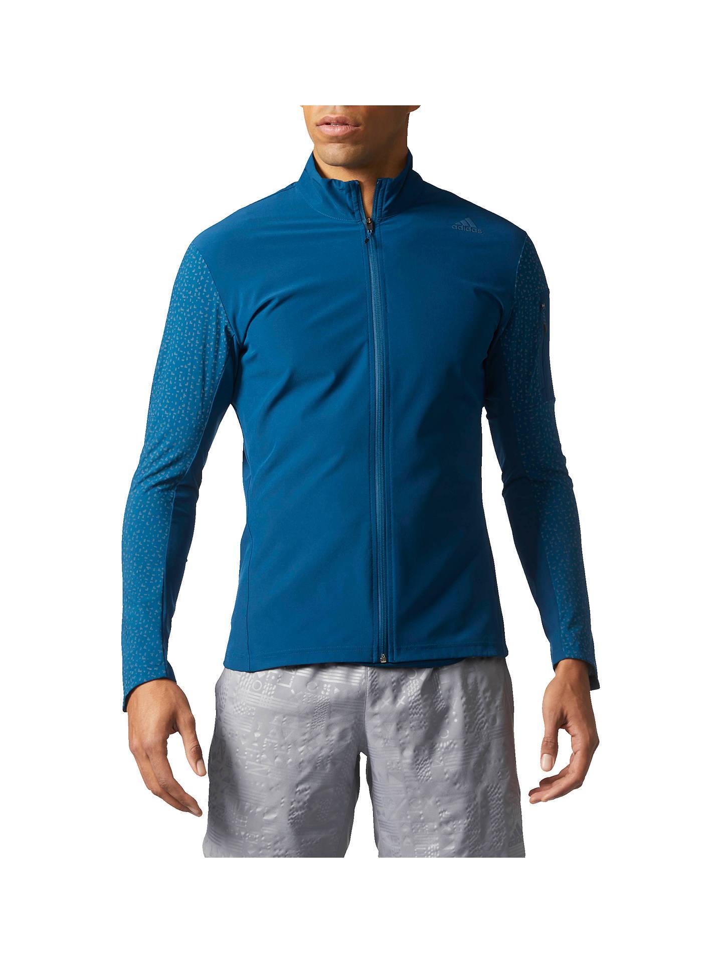 adidas Supernova Storm Men's Running Jacket, Blue at John