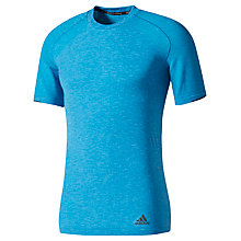 Buy Adidas Primeknit Wool Running T-Shirt, Blue Online at johnlewis.com