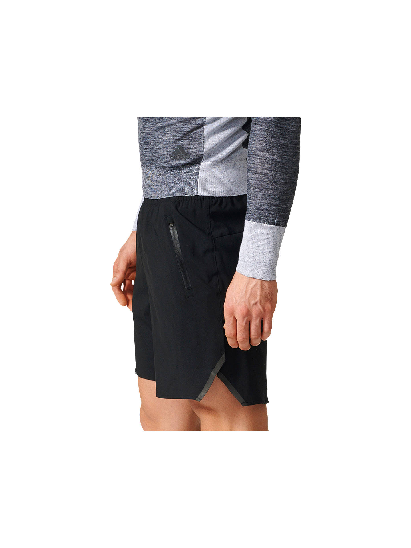 buy popular a8fc2 b5551 ... Buyadidas Ultra Energy Running Shorts, Black, S Online at johnlewis.com  ...