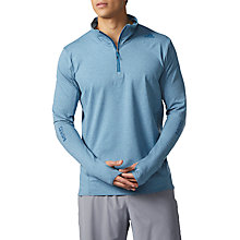 Buy Adidas Supernova Long Sleeve Running Sweatshirt, Blue Night/Colored Heather Online at johnlewis.com
