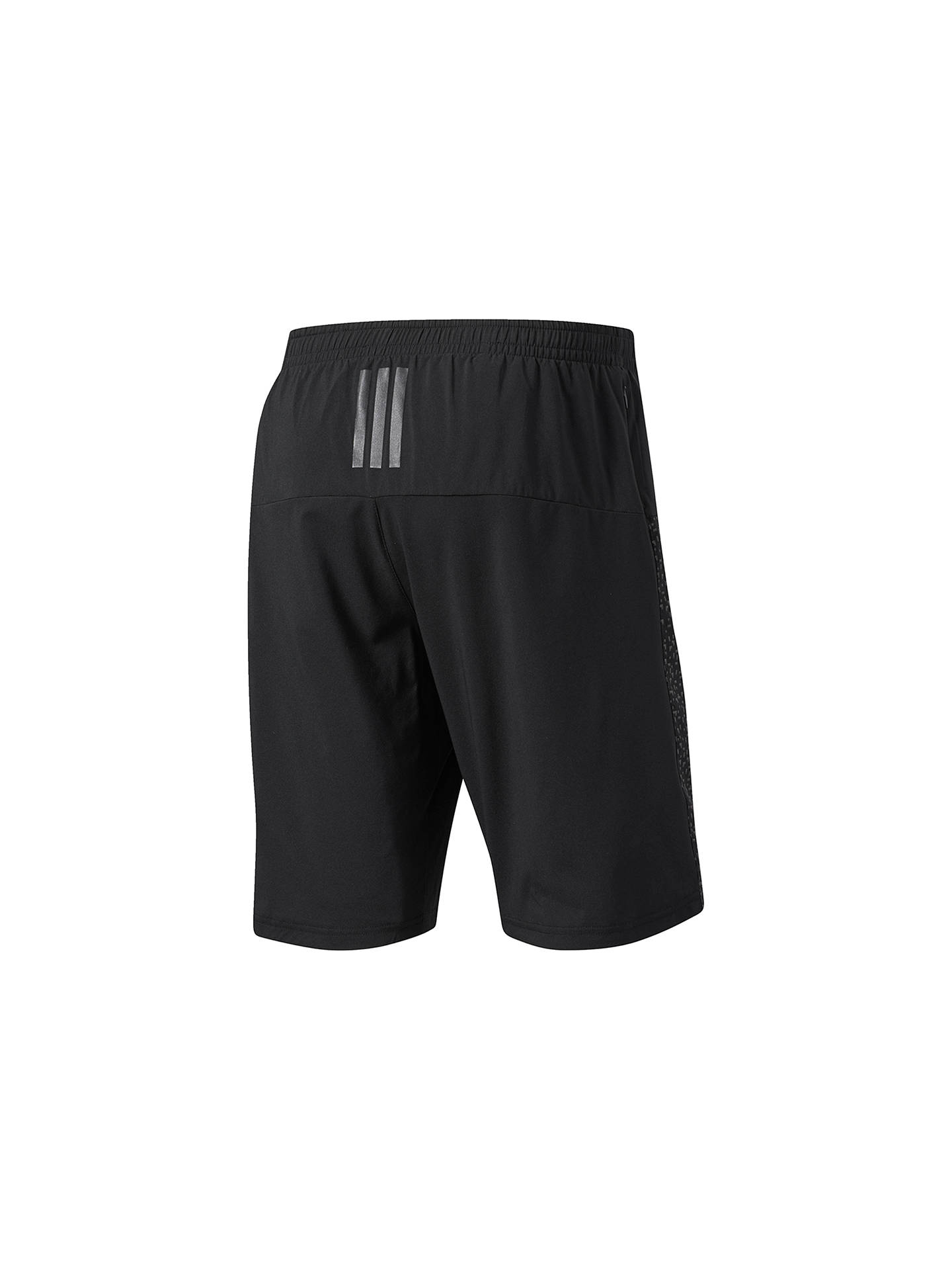 Buyadidas Supernova Dual Running Shorts, Black, S Online at johnlewis.com