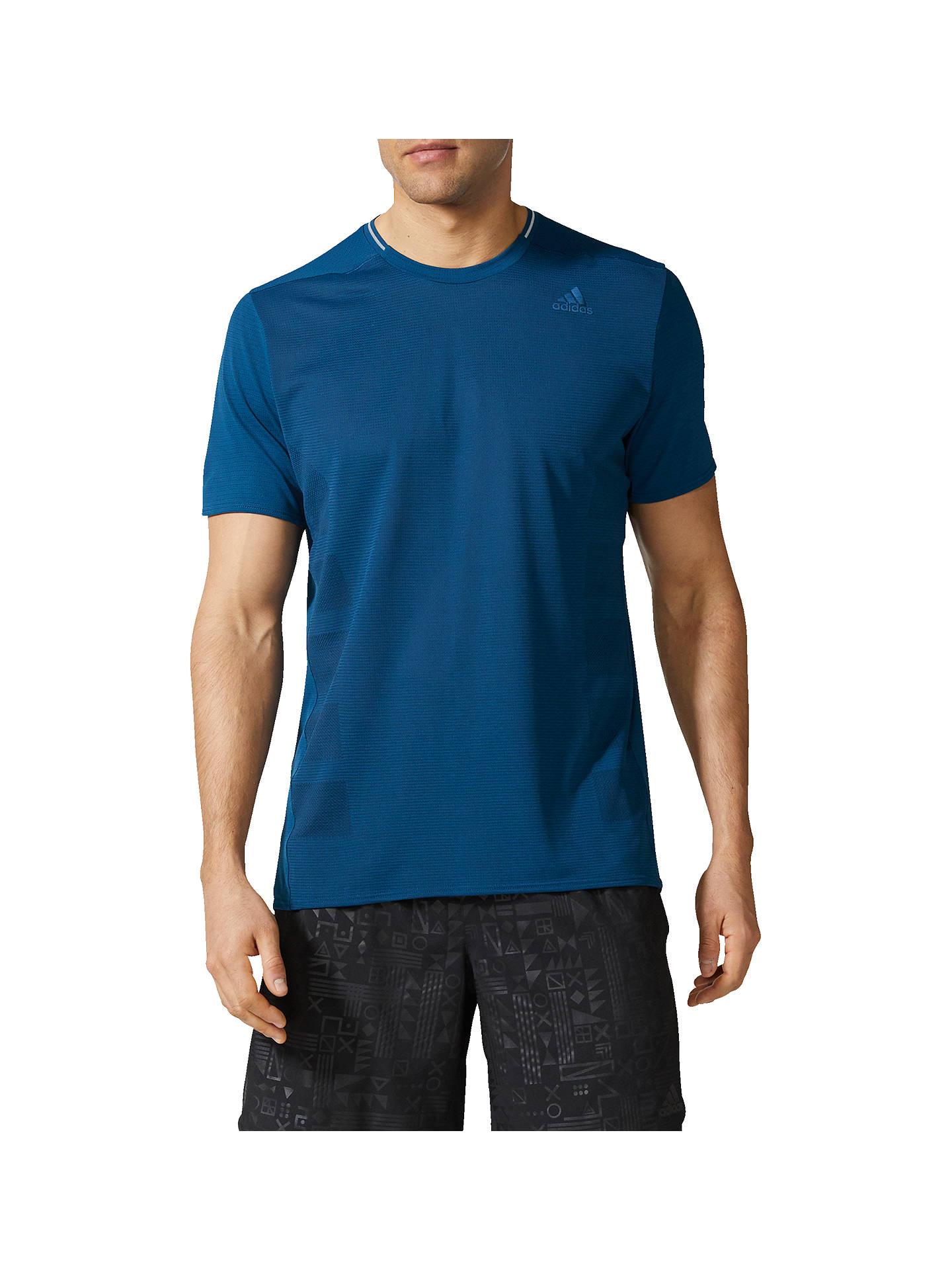 3414ca4c5 adidas Supernova Short Sleeve Running T-Shirt at John Lewis   Partners