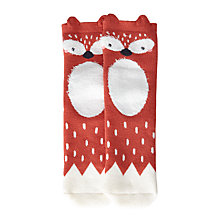 Buy John Lewis Children's Terry Fox Slipper Socks, Multi Online at johnlewis.com