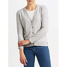 Buy John Lewis Donegal Cardigan, Grey Online at johnlewis.com
