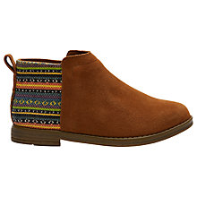Buy TOMS Children's Deia Suede Boots Online at johnlewis.com