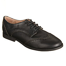 Buy John Lewis Children's Dorset Leather Brogue Shoes, Black Online at johnlewis.com