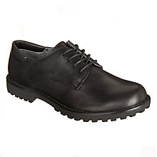 Buy John Lewis Children's Norfolk Lace Up Shoes, Black Online at johnlewis.com
