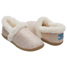 Buy TOMS House Slippers Online at johnlewis.com