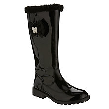 Buy Lelli Kelly Children's Frances Tall Boot, Black Patent Online at johnlewis.com