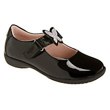 Buy Lelli Kelly Children's Angel Shoes, Black Patent Online at johnlewis.com