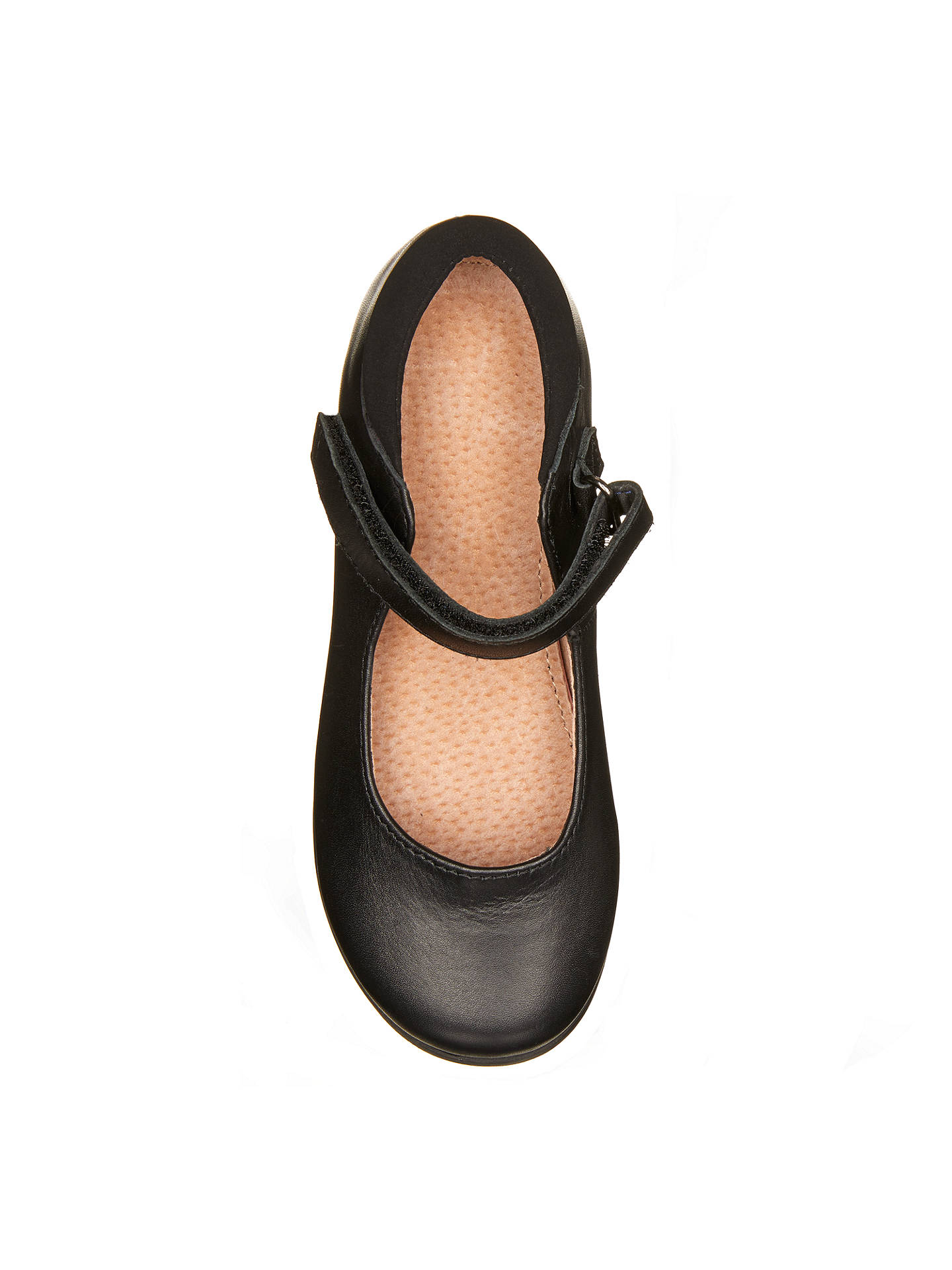 Buy John Lewis & Partners Children's Devon Mary Jane Shoes, Black, 10W Jnr Online at johnlewis.com