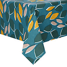 Buy John Lewis Scandi Palm Springs Tablecloth, Multi Online at johnlewis.com