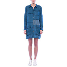 Buy French Connection Garie Denim Dress, Indigo Mix Online at johnlewis.com