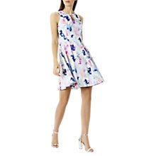 Buy Coast El Cristo Print Dress, Multi Online at johnlewis.com