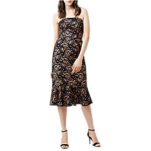 Buy Warehouse Strapless Premium Lace Dress Online at johnlewis.com
