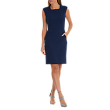 Buy Betty Barclay Jersey Shift Dress, Evening Blue Online at johnlewis.com