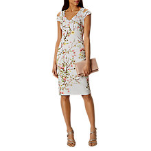 Buy Karen Millen New Blossom Dress, Multi Online at johnlewis.com