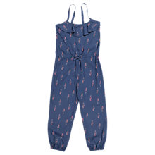 Buy Polarn O. Pyret Girls' Sea Playsuit, Blue Online at johnlewis.com