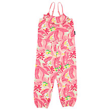 Buy Polarn O. Pyret Girls Flamingo Playsuit, Pink Online at johnlewis.com