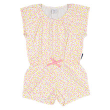 Buy Polarn O. Pyret Girls' Playsuit, Pink Online at johnlewis.com