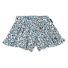 Buy Polarn O. Pyret Baby Floral Shorts, Blue Online at johnlewis.com